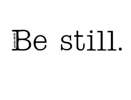 be_still 5